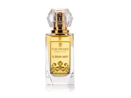 A demi mot krásný kořeněný niche parfém je vhodný pro ženy parfumerie Galimard eshop Amande Lux distribuce ČR a SR