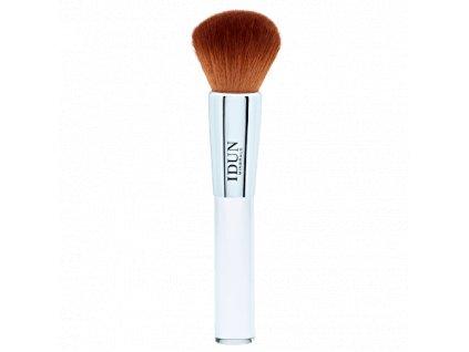 Štětec Kabuki pro nanášení minerálního makeupu a sypkého pudru vhodný i pro citlivou pleť a alergiky