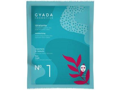 Přírodní hydratační maska s kyselinou hyaluronovou vegan. ITALSKÁ PŘÍRODNÍ VEGAN KOSMETIKA GAYADA COSMETICS