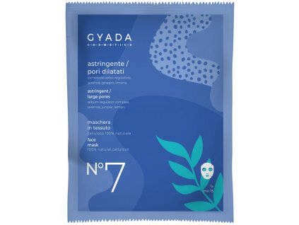 Přírodní plátýnková maska na rozšířené póry Gyada Cosmetics velkoobchod www.amandelux.com