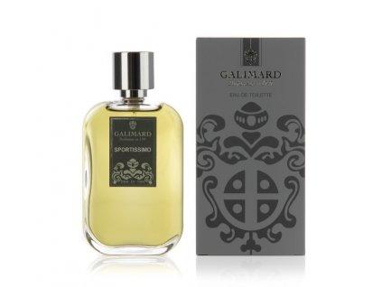 Niche toaletní pánská voda Sportissimo francouzská parfumerie z Provence Galimard 100 ml