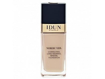 Liquid Foundation Nordic Veil Disa tekutý makeup s plným krytím Idun Minerals
