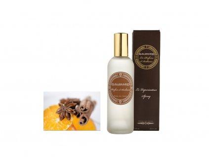 Bytový prafém s vůní skořice a pomeranče parfumerie Galimard