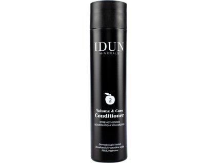 idun haircare volyme conditioner kondicionér na vlasy objemový Idun Minerals i pro citlivou pleť alergiky a astmatiky