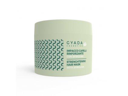 Přírodní reparační maska na vlasy se spirulínou Gyada Cosmetics
