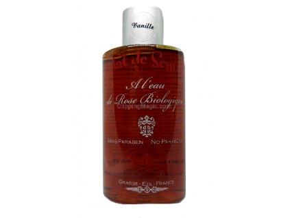Sprchový gel s organickou růžovou vodou Oslava vůně Vanilka