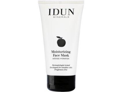 Hluboce hydratační pleťová maska přírodní švédská kosmetika i pro citlivou pleť Idun Minerals