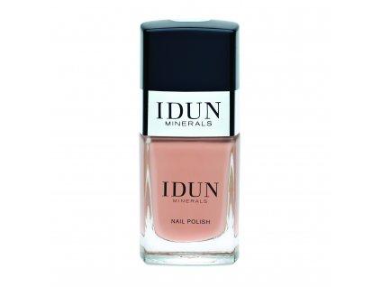 IDUN Nailpolish Bergskristall minerální vegan lak na nehty švédská kosmetika pro citlivou pleť prodávaná v lékárnách Idun Minerals