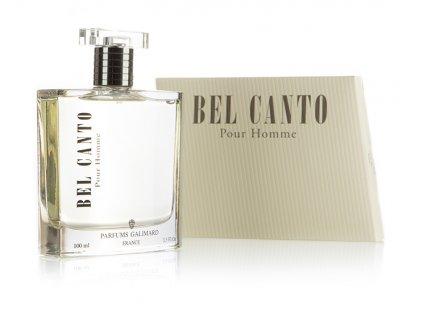 GALIMARD luxusní pánská parfémová voda BEL CANTO tester poštovné zdarma v