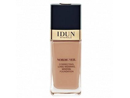 Liquid Foundation Nordic Veil ylva tekutý makeup s plným krytím Idun Minerals