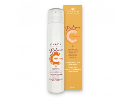 Pleťový krém s vitamínem C pro mastnou pleť vegan Gyada cosmetics eshop Amande Lux