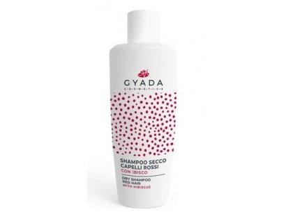 Suchý šampón pro červené vlasy s extrakterm z ibišku Gyada Cosmetics distribuce pro ČR a SR