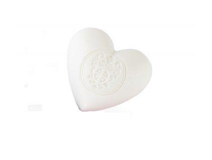 Mýdlové srdce s vůní bílých květů z Provence parfumérie Galimard