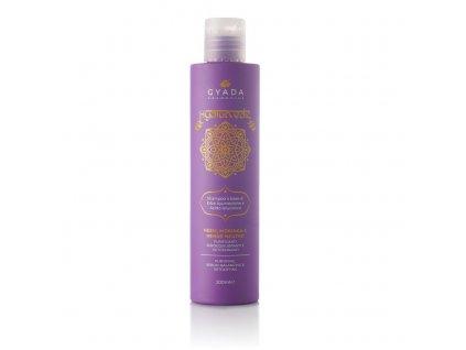 Ajurvédský šampón s kyselinou hyaluronovou Rovnována a výživa Gyada Cosmetics eshop Amande Lux