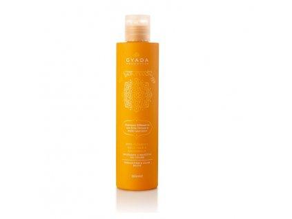 Ajurvédský šampón s kyselinou hyaluronovou pro BLOND VLASY Gyada Cosmetics eshop Amande Lux