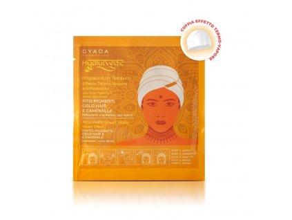 Ajurvédská bylinná maska na blond vlasy eshop s přírodní kosmetikou Amande Lux