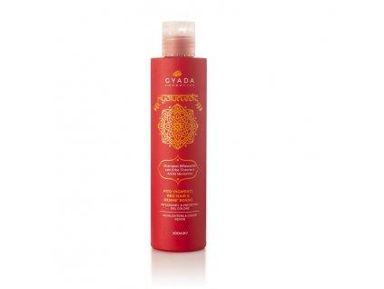 Ajurvédský rozjasňující šampón s kyselinou hyaluronovou pro červené vlasy eshop s nejprodávanější přírodní kosmetikou Amande Lux