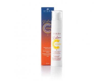 Pleťový booster s vitamínem C okamžité oživení pleti kosmetika pro zralou pleť eshop Amande Lux
