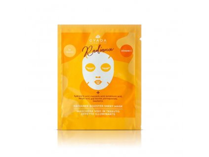 Plátýnková maska booster s vitamínem C rozjasňující eshop s nejprodávanější přírodní kosmetikou Amande Lux