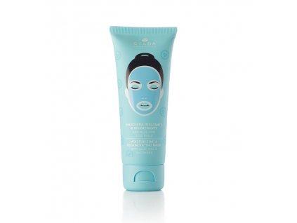 Hydratační maska na obličej s okourkou, kiwi a slézem eshop s přírodní kosmetiou Amande Lux