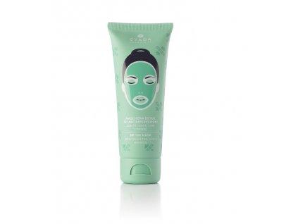 Detoxikační pleťová maska stahuje póry, obnovuje správnou tvorbu kožního mazu, hluboce čistí Gyada Cosmetics