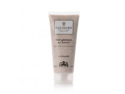Jemný tělový peeling z Provence s rozemletými jadérky z meruněk