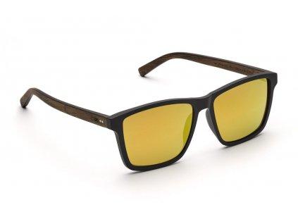 michel orange verspiegelte grose holz sonnenbrille takeashot 1