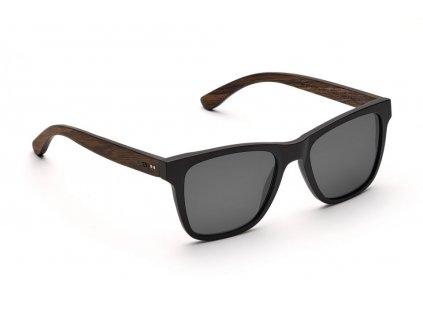 iron heinrich schwarze wayfarer holz sonnenbrille takeashot 1