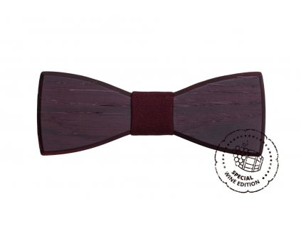 red wine bow tie