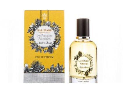 Les Fontaines Parfumées AMBRE BOISÉ luxusní niche francouzská parfémovaná voda niche parfumerie Galimard