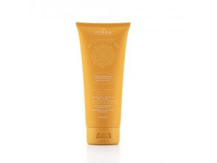 Ajurvédská pigmentová maska na blond vlasy s kyselinou hyaluronovou Gyada Cosmetics eshop Amande Lux