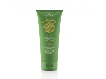 Ajurvédský maska na vlasy na podporu rustu vlasů Gyada Cosmetics eshop Amande Lux