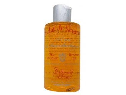 Sprchový gel s organickou růžovou vodou s vůní pomeranče francouzská parfumerie Galimard Provence