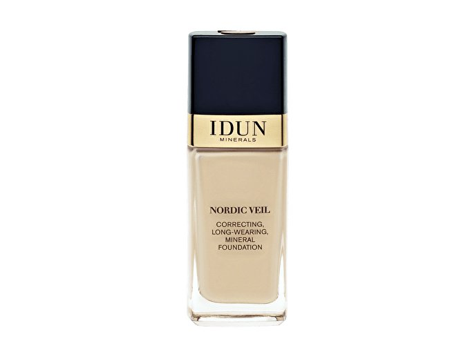 Liquid Foundation Nordic Veil Freja tekutý makeup s plným krytím Idun Minerals