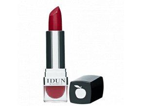 idun minerals minerální matná rtěnka sytě červený luxusní odstín pro sexy ženy Vinbär velkoobchod s přírodní kosmetikou Amande Lux