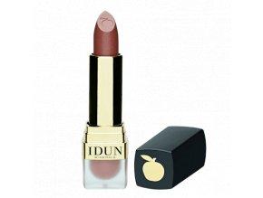 idun minerals minerální krémová rtěnka Stina luxusní jemný odstín který podtrhne smyslnost vašich rtů iderální dárek pro každou ženu