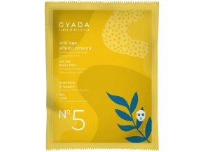 Přírodní plátýnková maska vegan anti age se zpevňujícím efektem vhodná pro povadlou pleť velkoochod www.amandelux.com