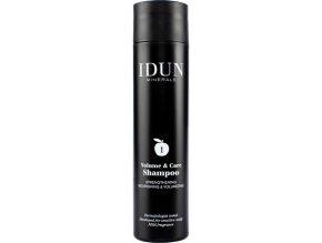 idun haircare volyme shampoo šampon na vlasy objemový Idun Minerals i pro citlivou pleť alergiky a astmatiky