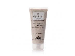 Přírodní tělovýn peeling s rozemletými meruňkovými jadérky a olivovým olejem parfumerie Galimard, výhradní e shop pro ČR v