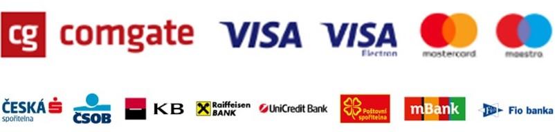 Platby online, platby kartou