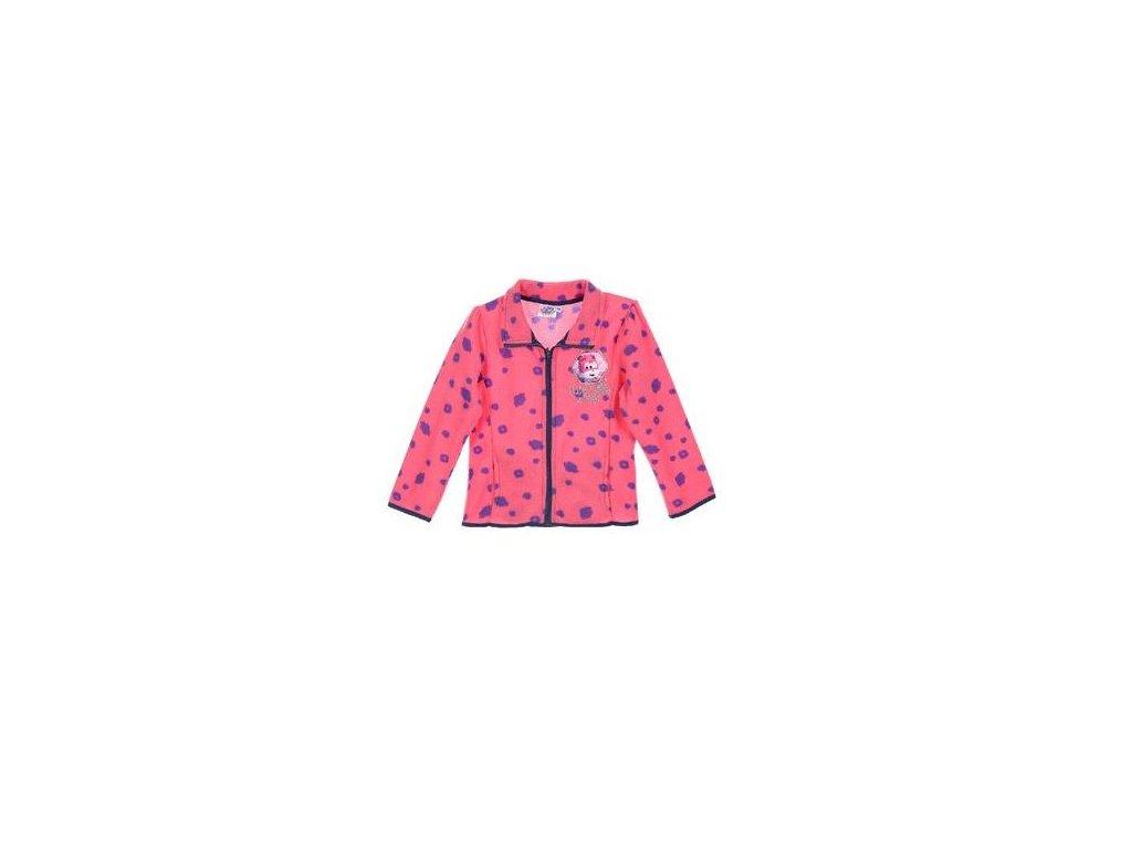 Mikina SUPER WINGS fleece růžová