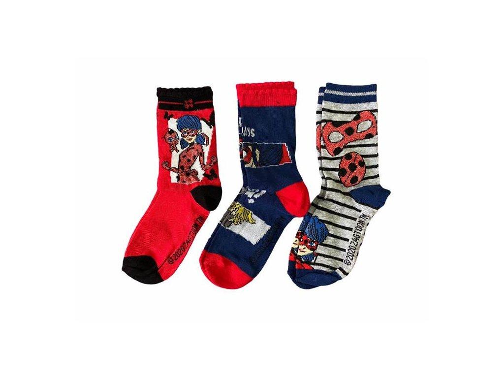 Klasické ponožky LADY BUG 3 pack