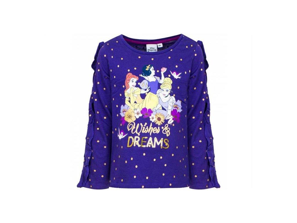 Tričko PRINCEZNY fialové