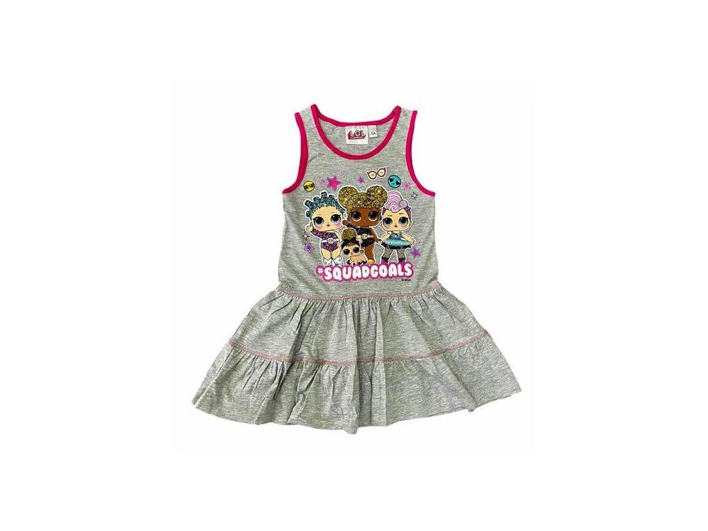 Letní bavlněné šaty LOL