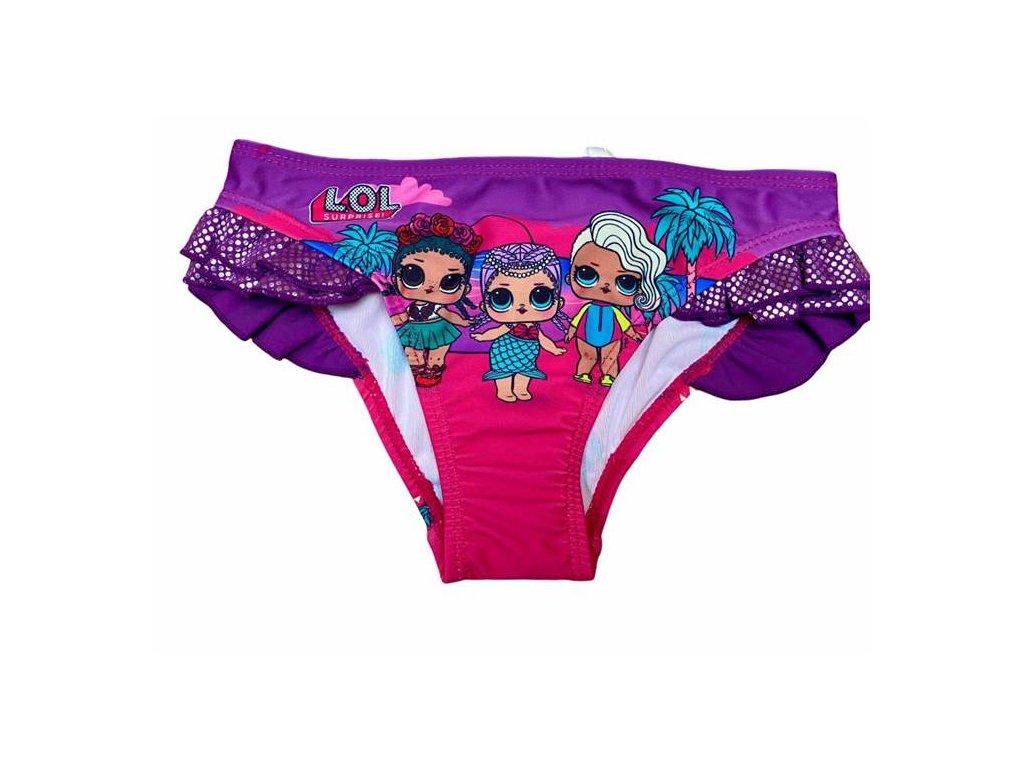 Plavky LOL spodní díl fialové