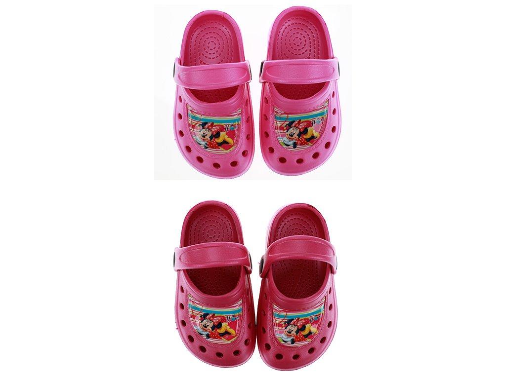 Sandály typu crocs MINNIE
