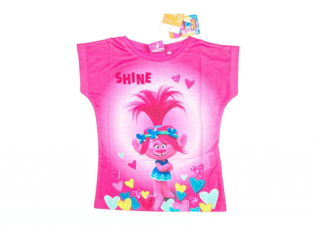 Tričko TROLLOVÉ růžové 5a27e4195f