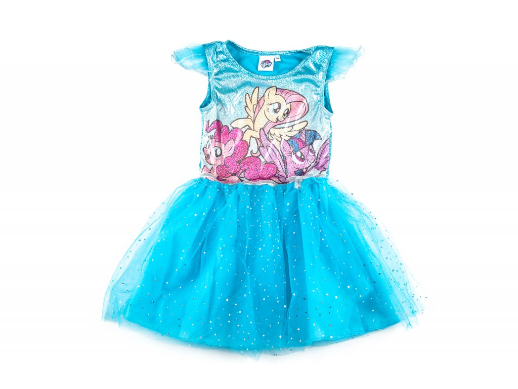 Šaty MY LITTLE PONY s tylovou sukní modré