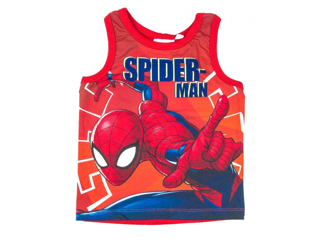 Tílko SPIDERMAN červená záda