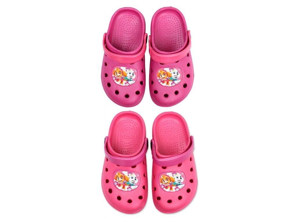 Sandály typu Crocs TLAPKOVÁ PATROLA